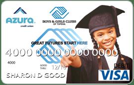 Azura Boys and Girls Club Community Impact Debit Card
