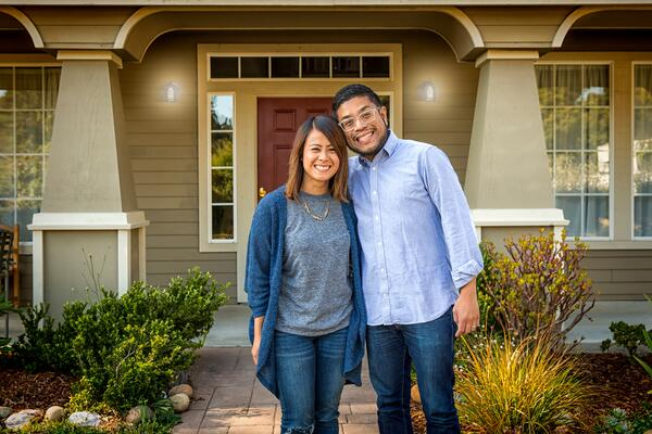 Couple Happy Home Mortgage