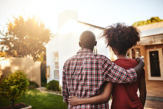 Couple Considering a Home Loan