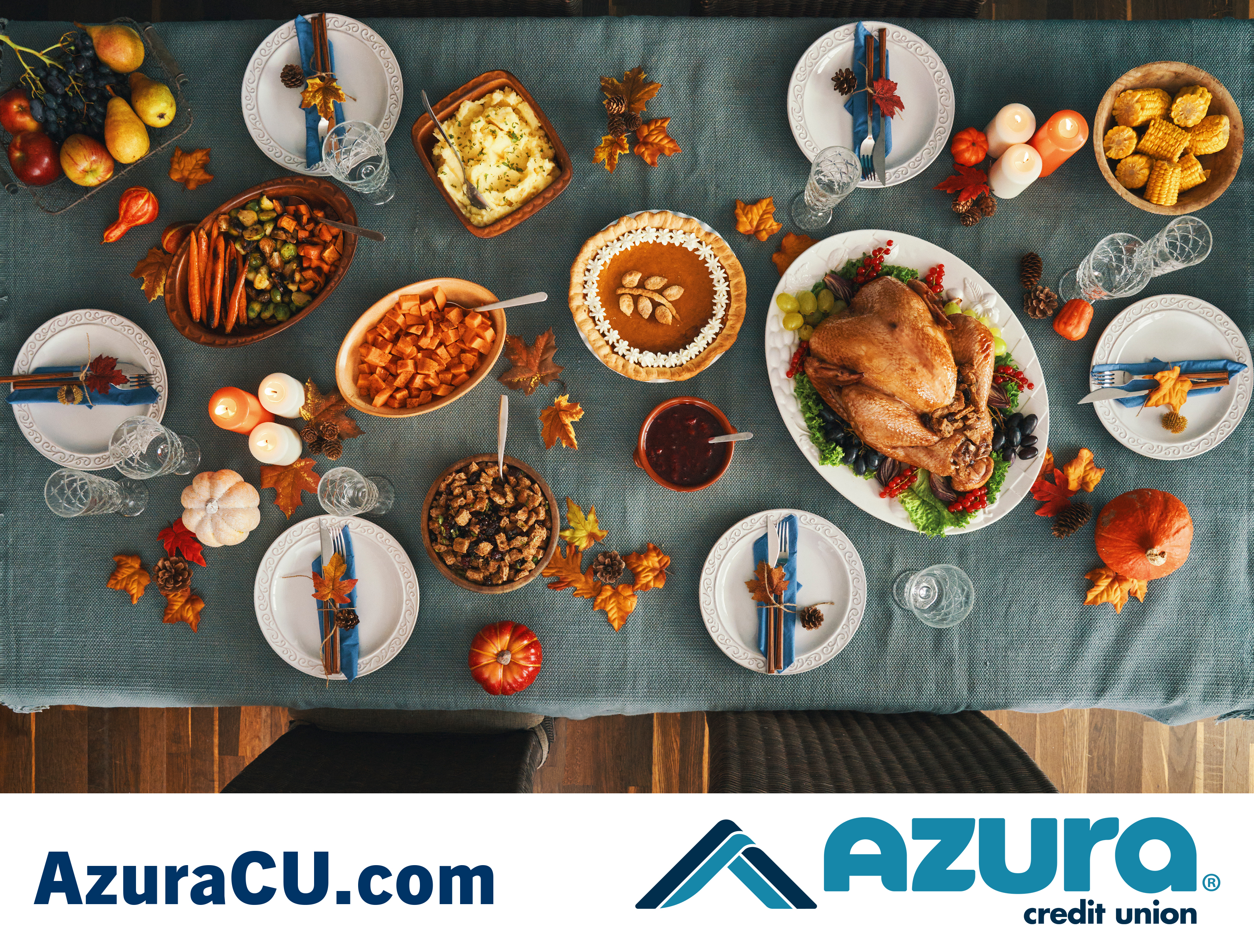 Was there a Credit Union at the first Thanksgiving?