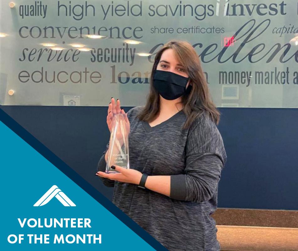 Azura's April Volunteer of the Month