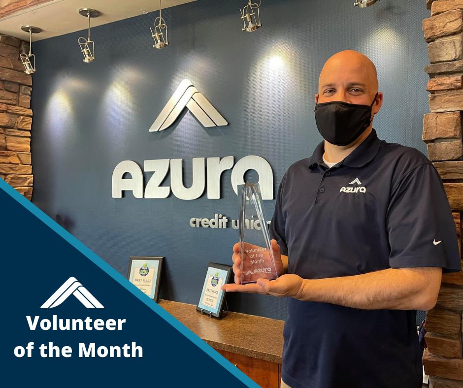 Azura's March Volunteer of the Month
